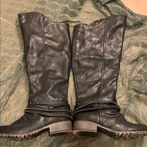 Black Jelly Pop Boots